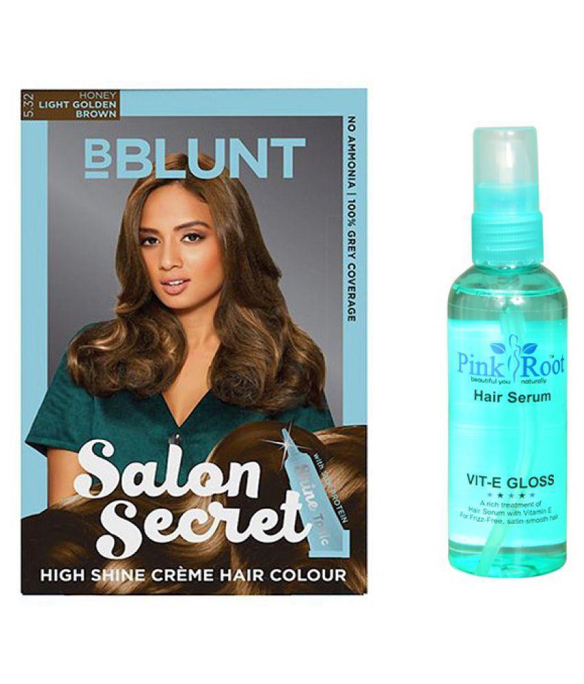 BBLUNT Semi Permanent Hair Color Golden Blonde 200 gm Pack of 2: Buy ...