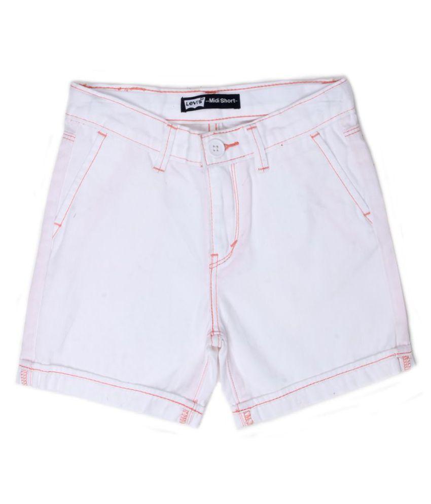 Levi's Girls White Short