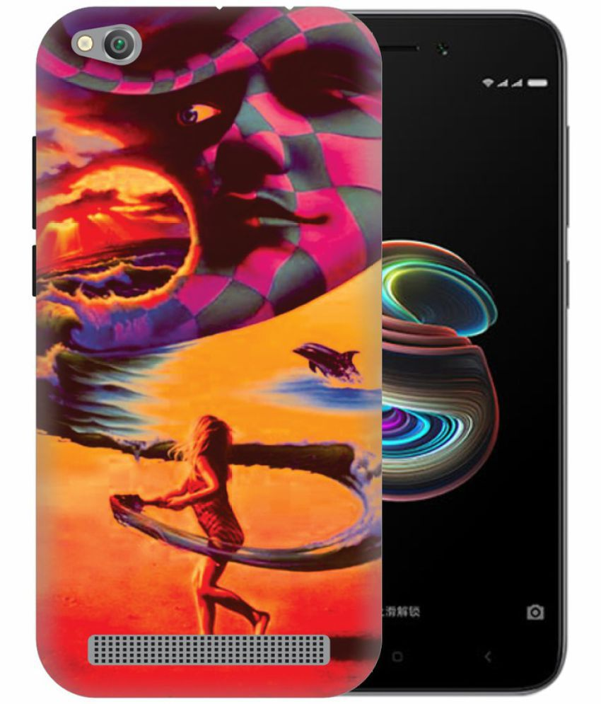 Xiaomi Redmi 5A 3D Back Covers By Printland
