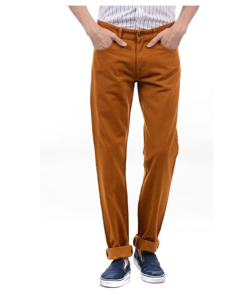 Gant Brown Regular Fit Jeans