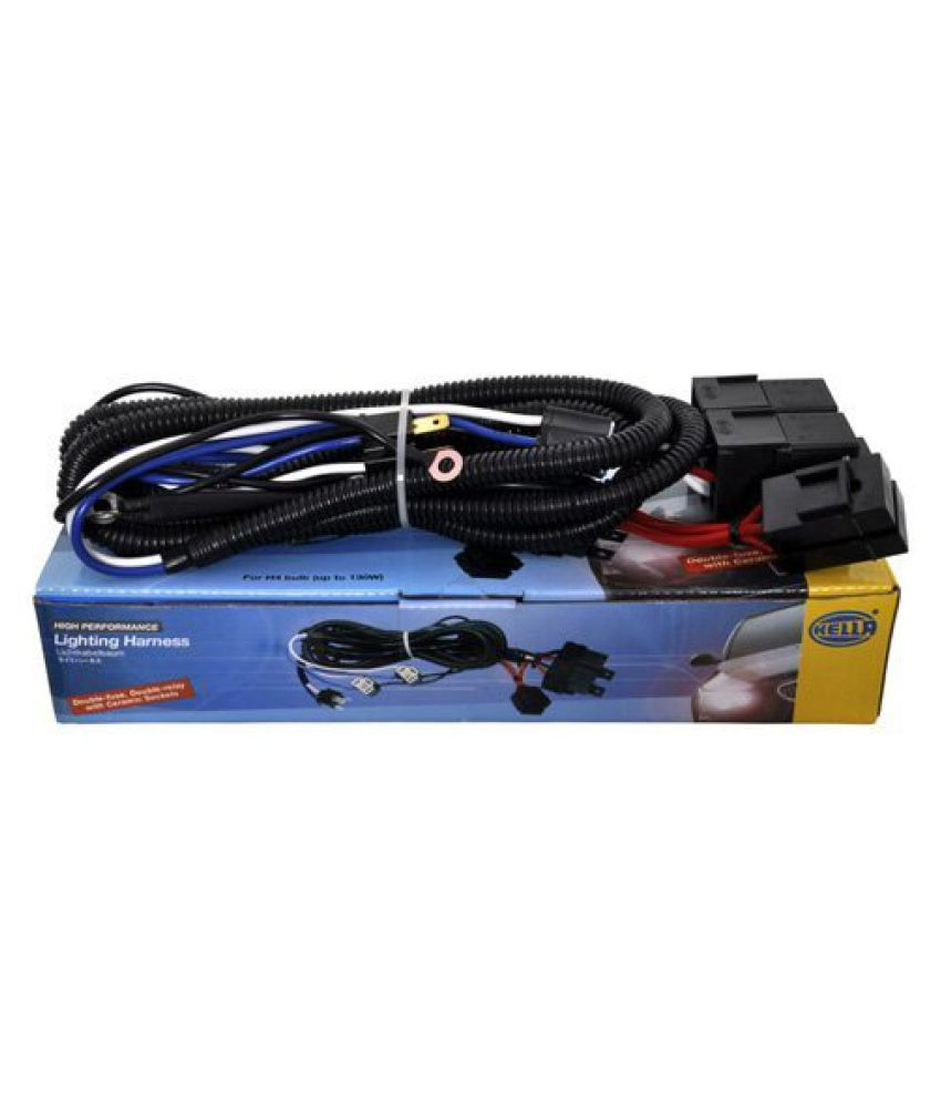 Hella Headlamp Wiring Harness 100 130w Max With Relay For High Machines India Performance