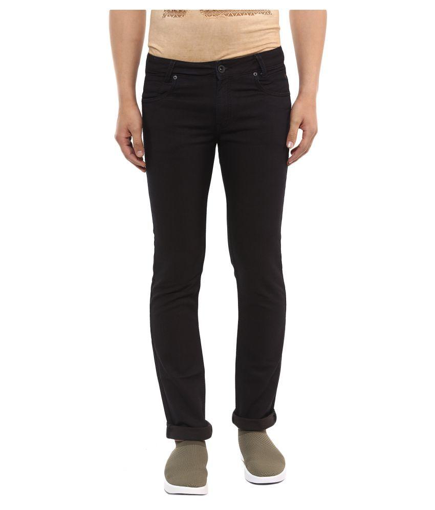 Mufti Brown Slim Jeans