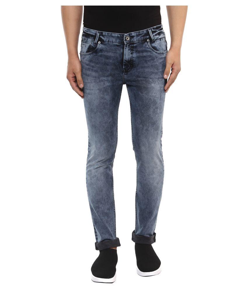 Mufti Grey Slim Jeans