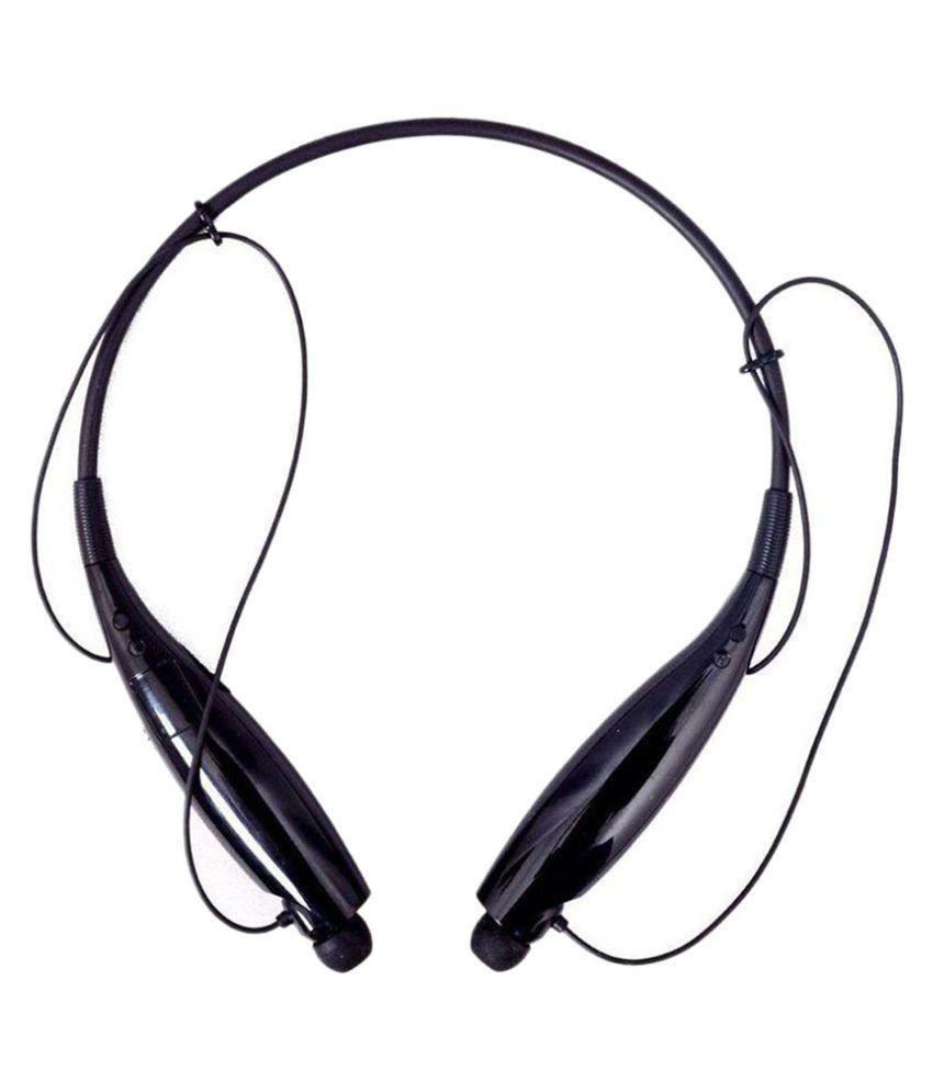 GO SHOPS Oppo R8207 Neckband Wireless With Mic Headphones/Earphones