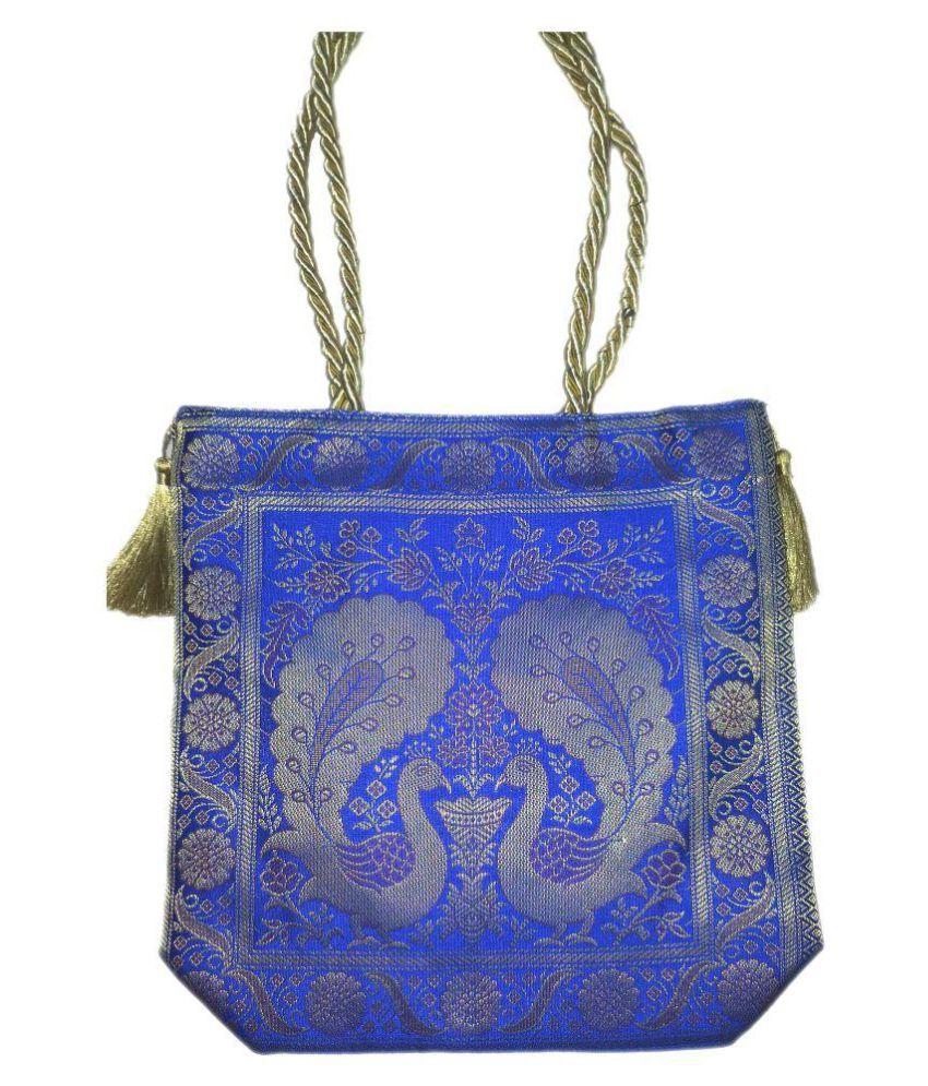 MGS ENTERPRISES Blue Fabric Handheld