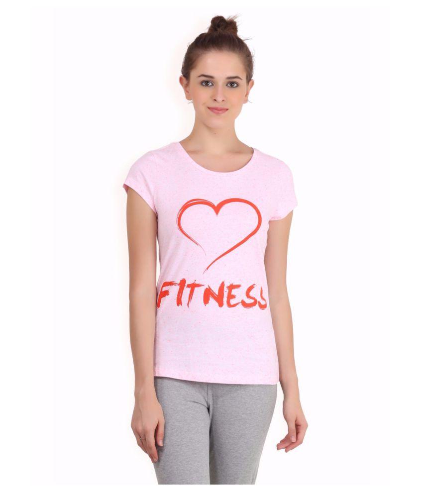 Alcis Women White Fitness Top