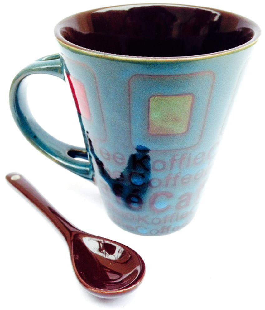 Indeavour Ceramic Coffee Mug 1 Pcs 225 ml