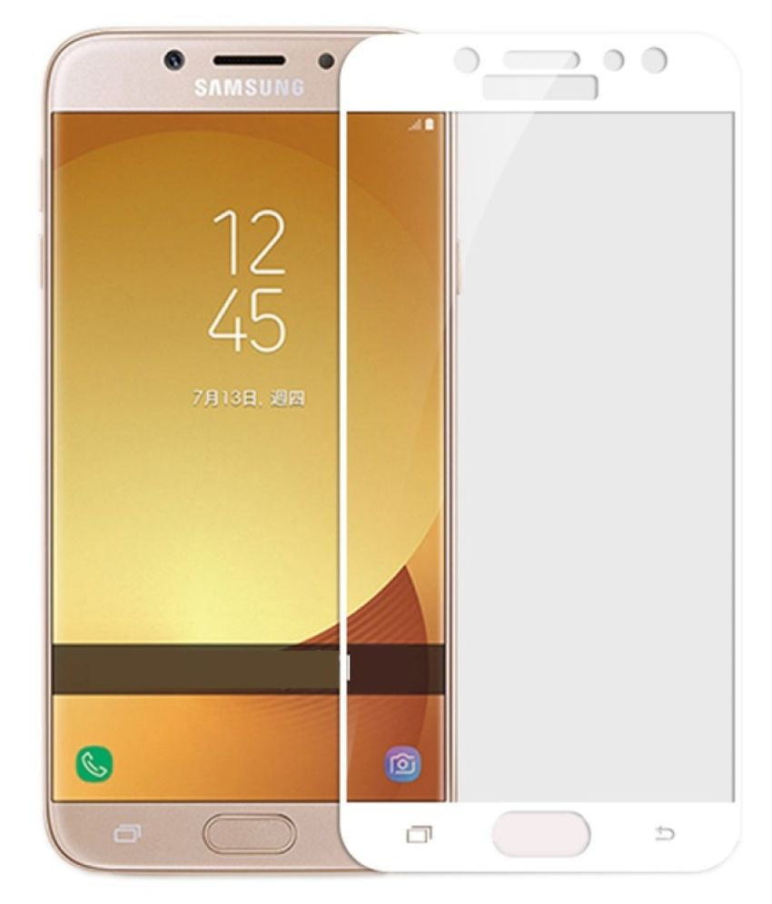 Samsung Galaxy J7 Prime Color Glass Screen Guard By AUROCHS