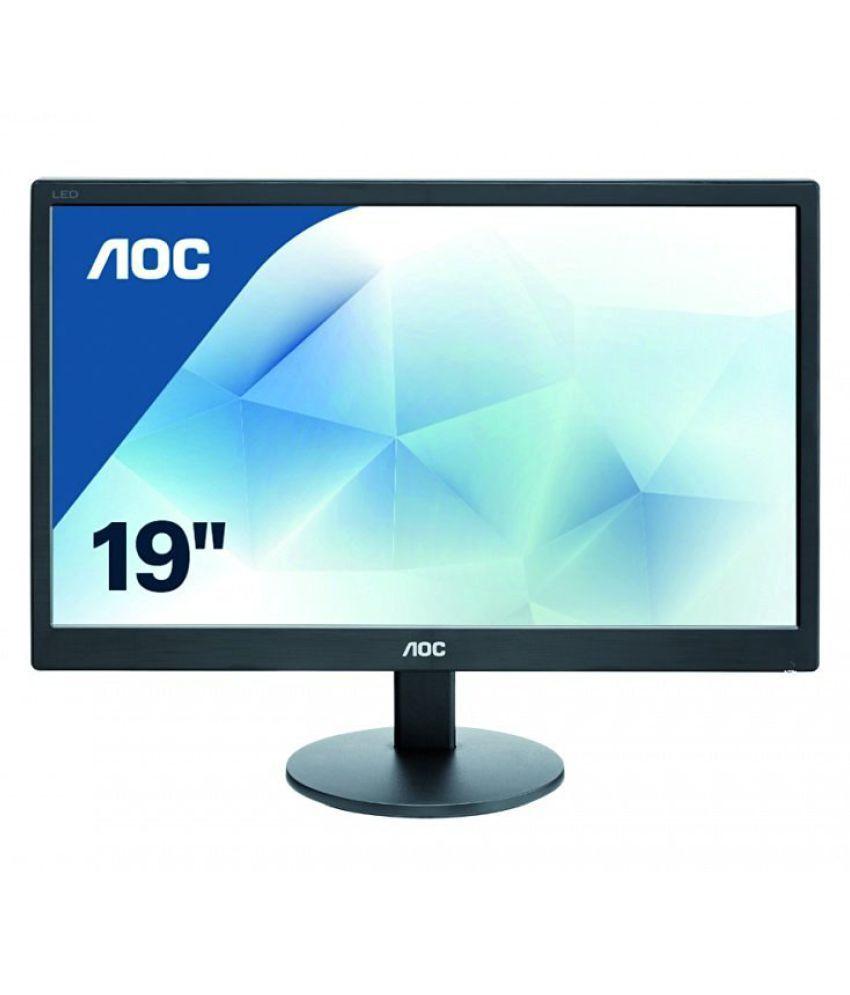 Aoc E970SWN 47 cm(18.5) 1366*768 Full HD LED Monitor