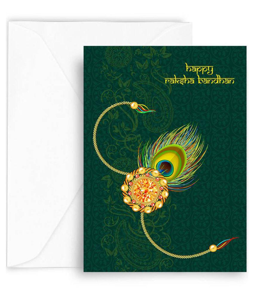 Kaarti Raksha Bandhan Greeting Card Sk0448 Buy Online At Best
