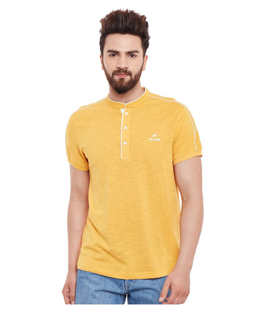 ALCIS MENS GOLD T-Shirts