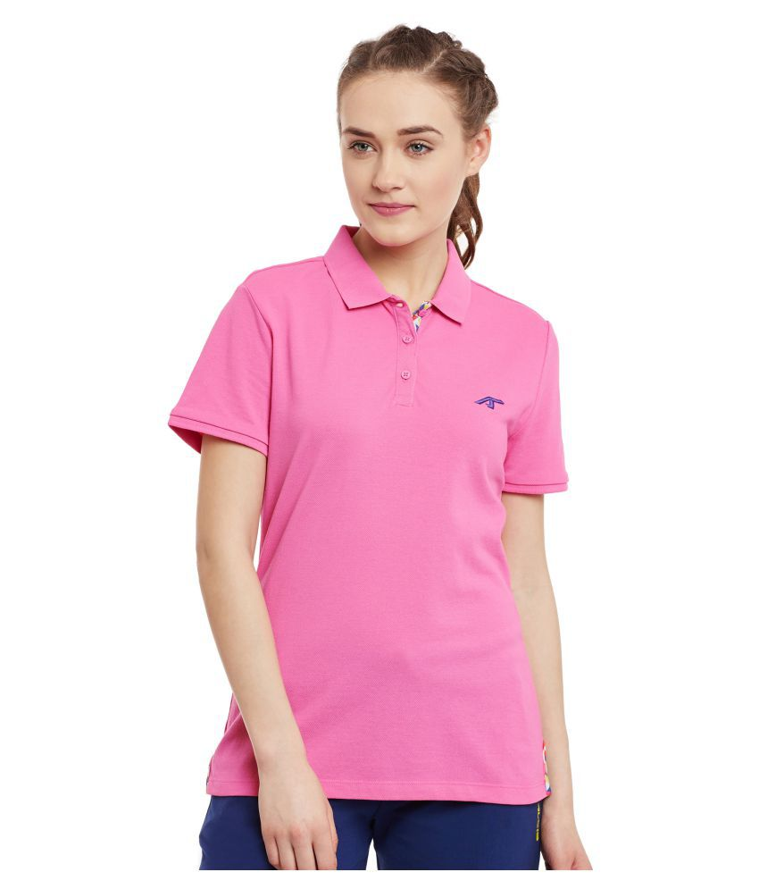ALCIS WOMENS PINK T-Shirts
