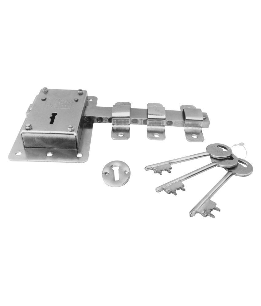 Buy Ramson 10 Chal Iron Door Lock With 3 Keys For High