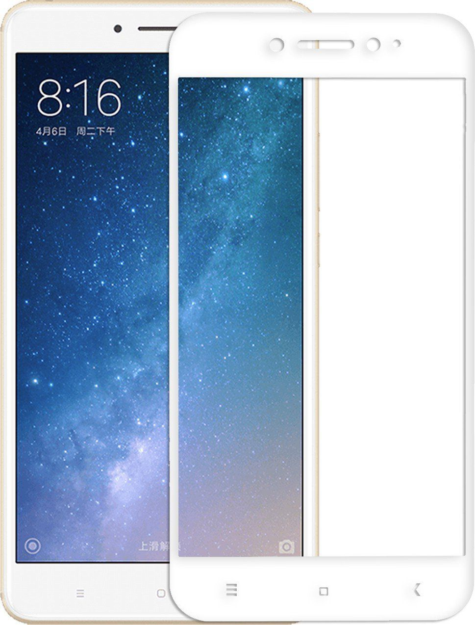 791480295b9 XIAOMI MI MAX 2 Tempered Glass Screen Guard By Hupshy - Mobile Screen  Guards Online at Low Prices