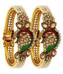 b03fe029458 Bangles and Bracelets Upto 87% OFF: Buy Fashion Bangles and ...