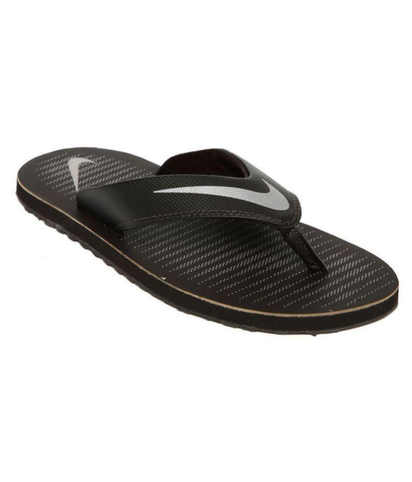 new arrival 57959 3978a Nike Air thong 5 Black Thong Flip Flop
