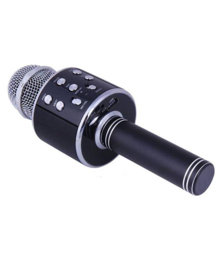 ibs ws 858 karaoke portable singing bluetooth ktv wireless microphone buy ibs ws 858 karaoke. Black Bedroom Furniture Sets. Home Design Ideas