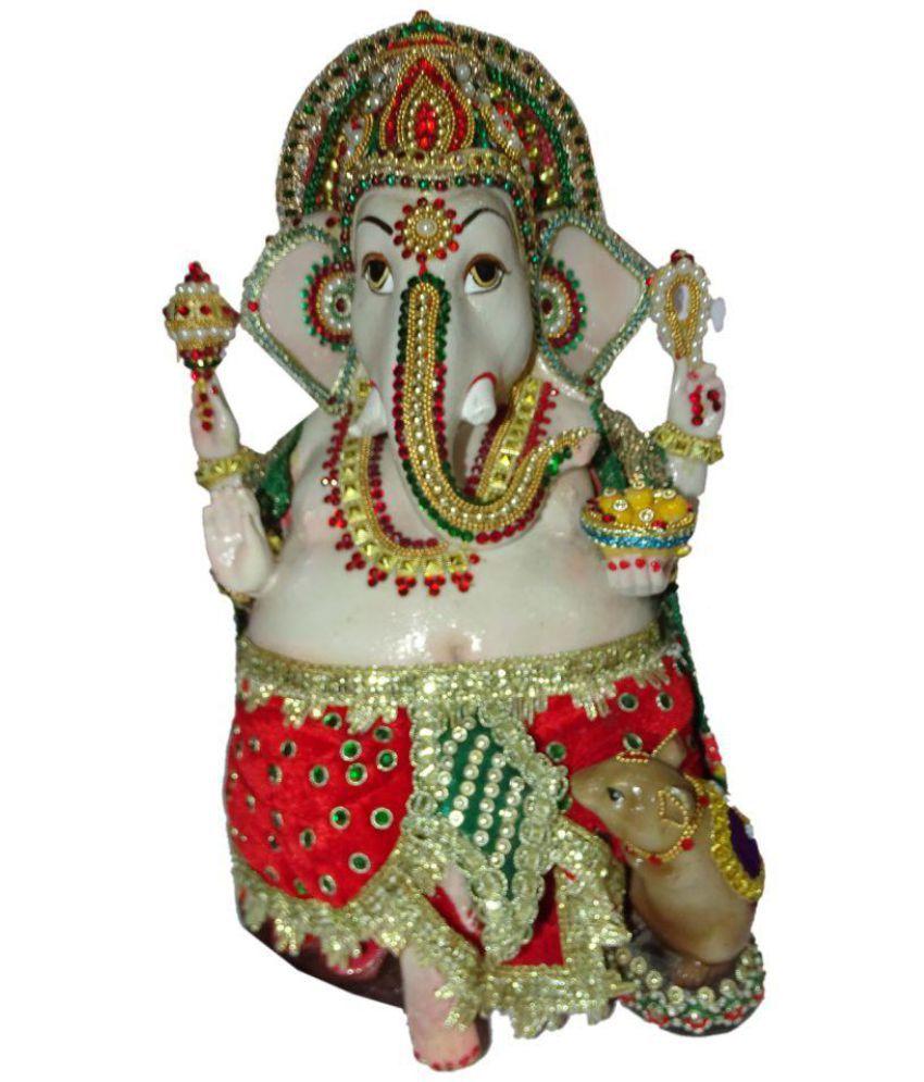 Boon Ganesha Polyresin Idol