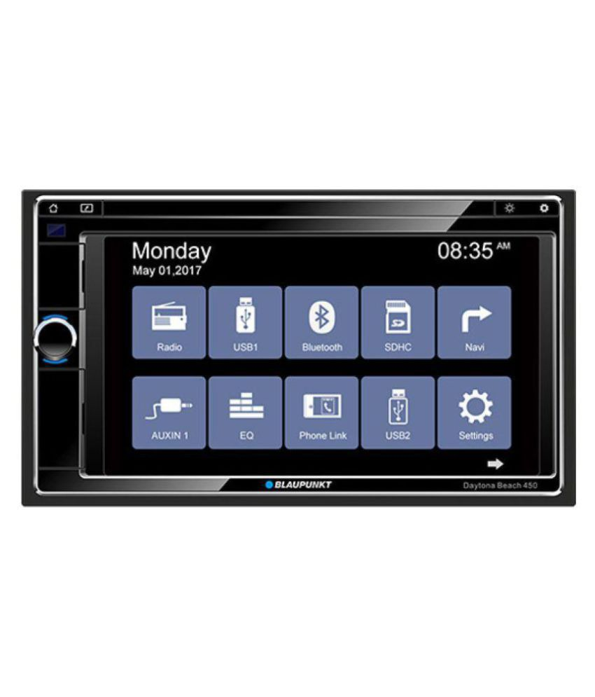 blaupunkt daytona beach 450 double din car stereo buy. Black Bedroom Furniture Sets. Home Design Ideas