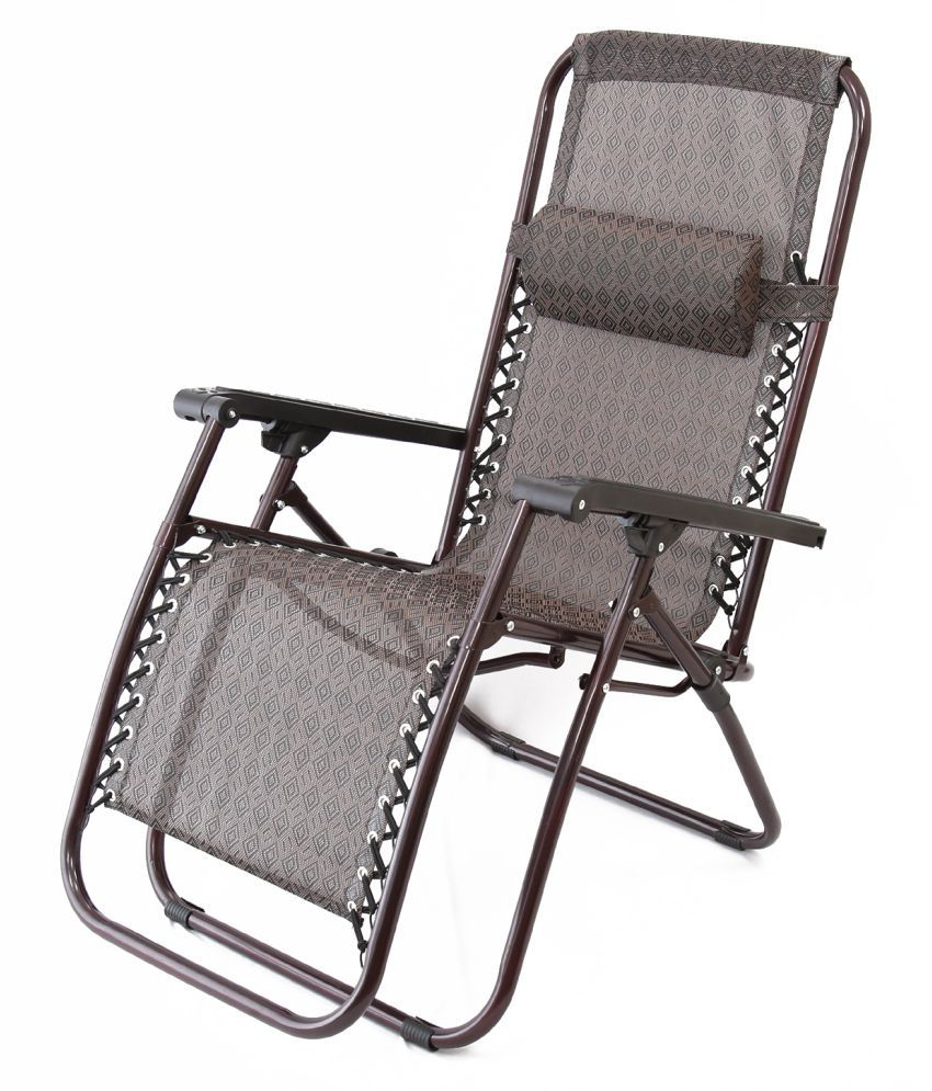 Kumaka Folding Zero Gravity Lounge Chair With Adjustable