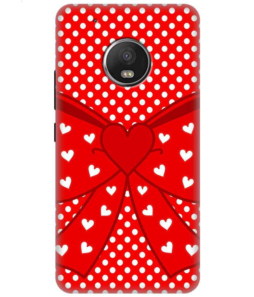 Moto G5 3D Back Covers By Wow