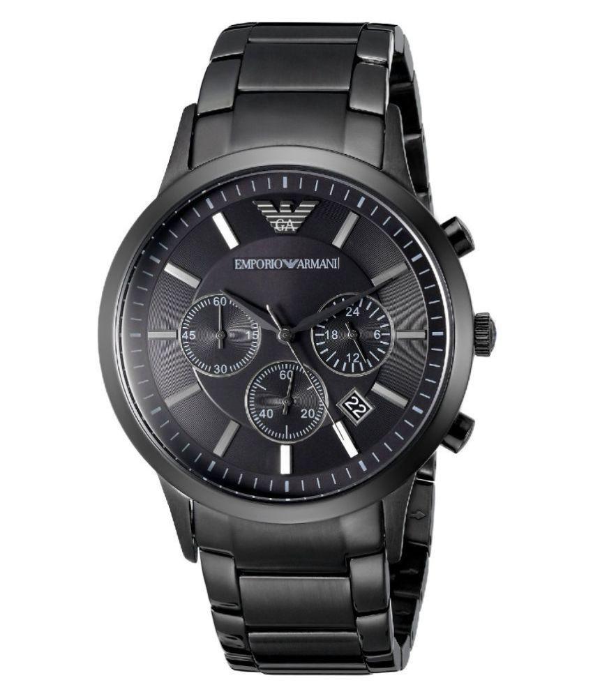 Timeless AR2453 Black Men s Watch - Buy Timeless AR2453 Black Men s ... 64bfbfd7c41