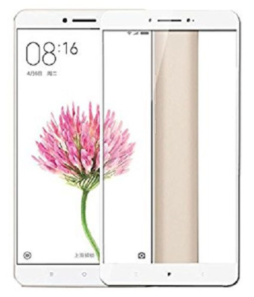 Xiaomi Mi Max Tempered Glass Screen Guard By CELL SHIELD