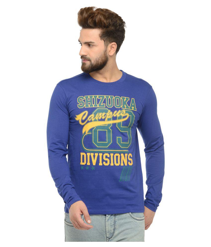 ARKYN Blue Round T-Shirt