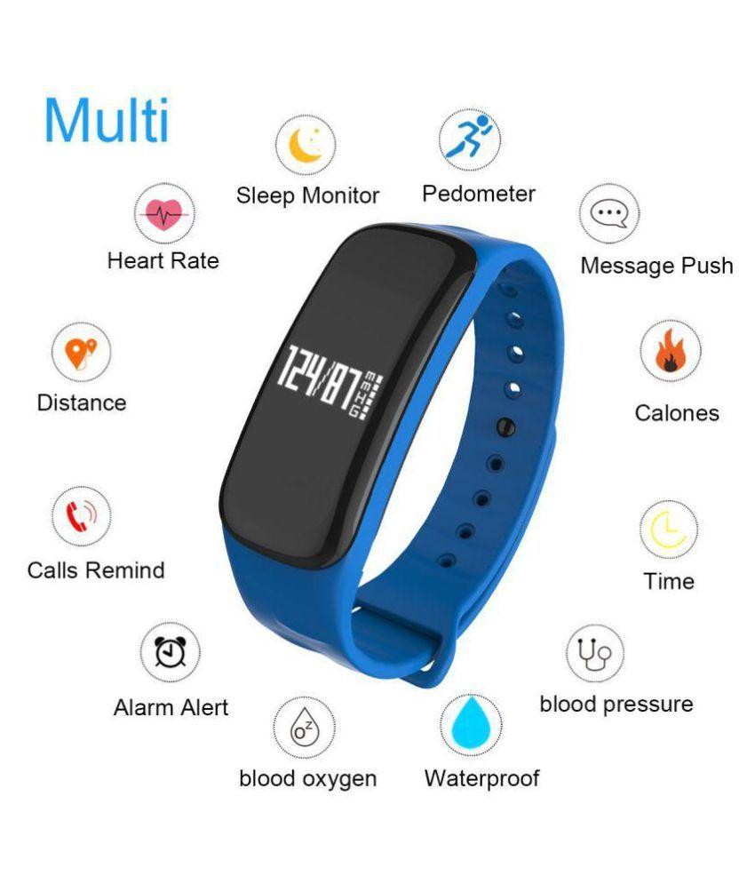 WEARFIT M8 Fitness Band (Heart rate monitoring, Sleep Monitor, Pedometer,  Waterproof)