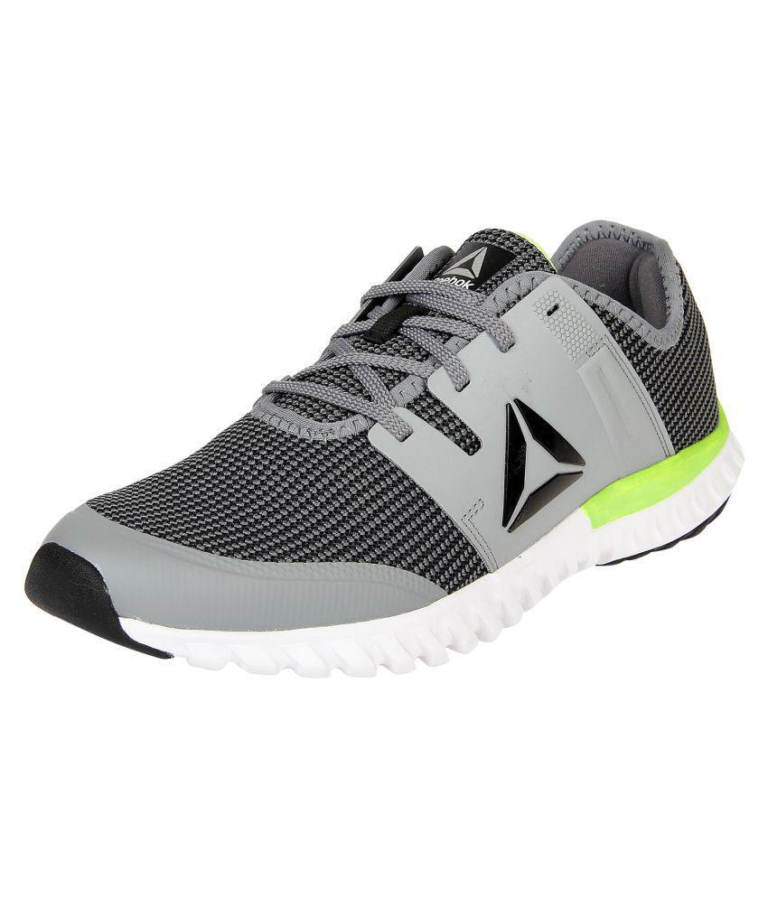 Reebok Twist Run Gray Running Shoes