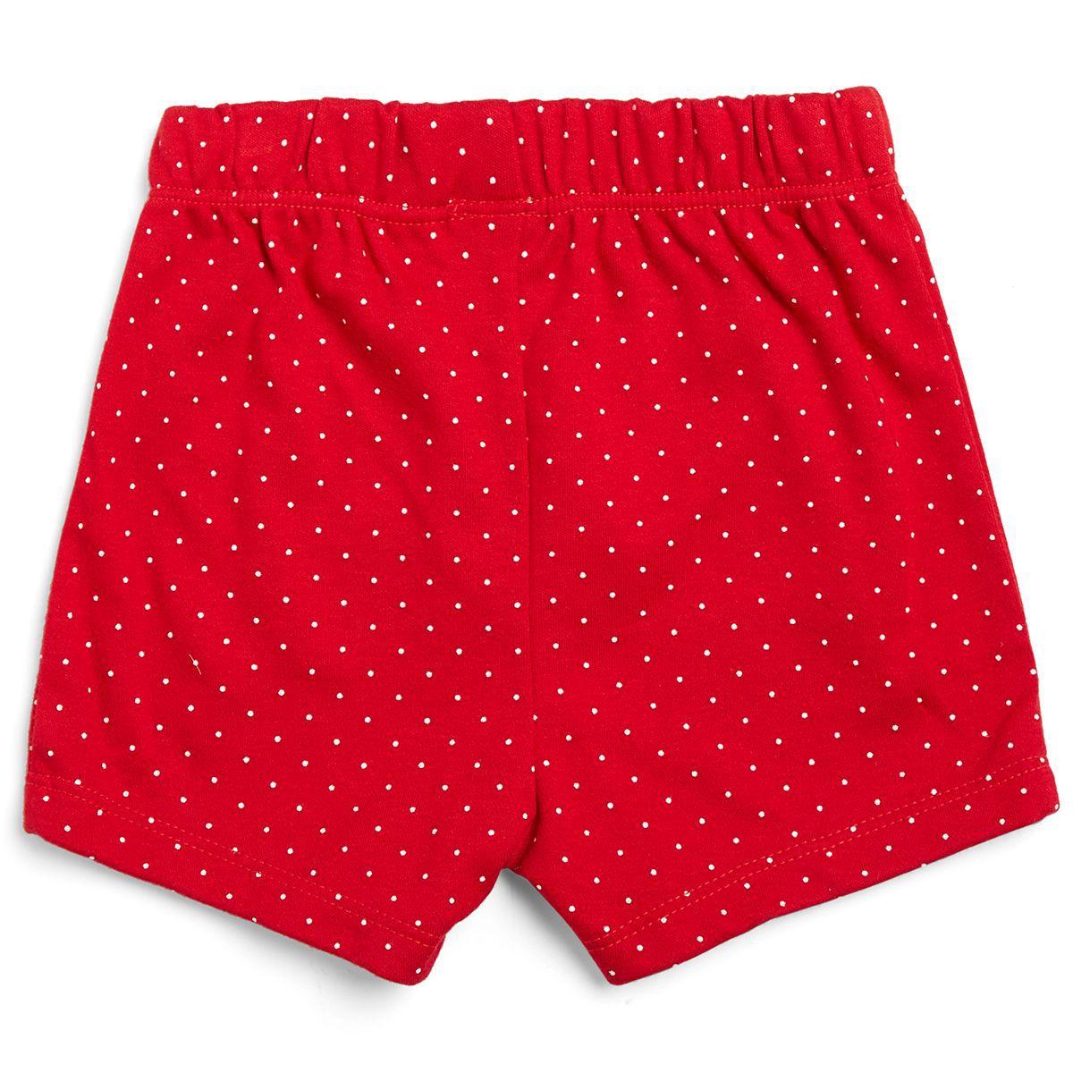 FS MiniKlub  Girls Red  Short