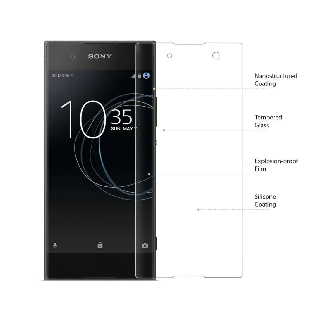8c41f2be928 Sony Xperia XZ1 Tempered Glass Screen Guard By SpectraDeal - Mobile Screen  Guards Online at Low Prices