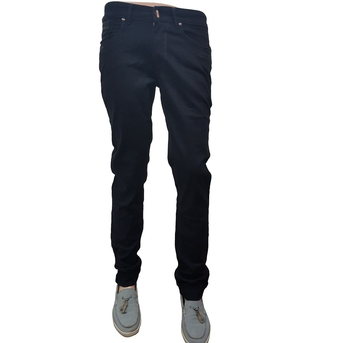 ZIPIT Black Slim Jeans