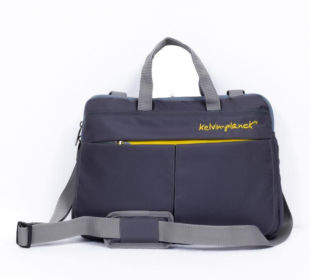 kelvin planck Grey Laptop Sleeves