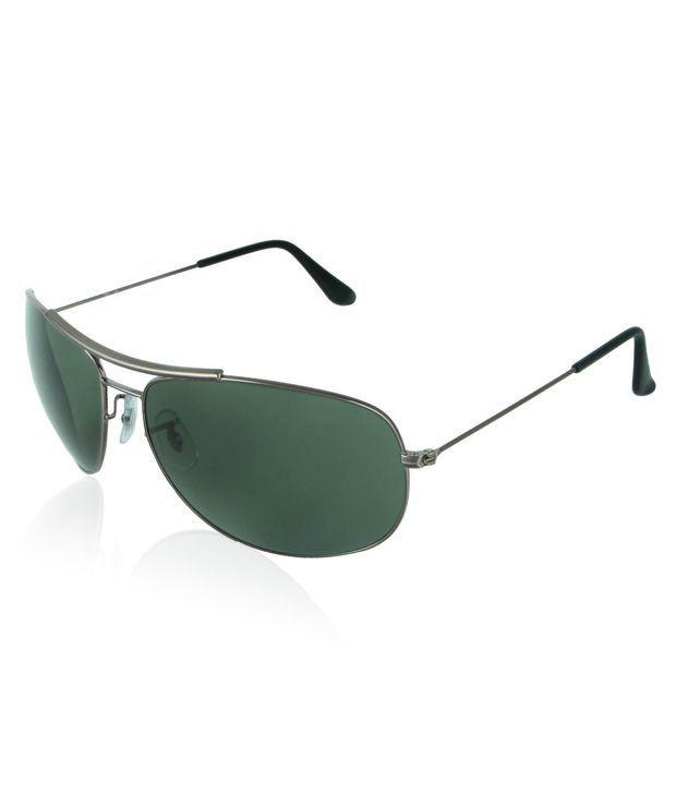cd612e6820 Ray Ban Avaitor Green Aviator Sunglasses ( RB105556 ) - Buy Ray Ban ...