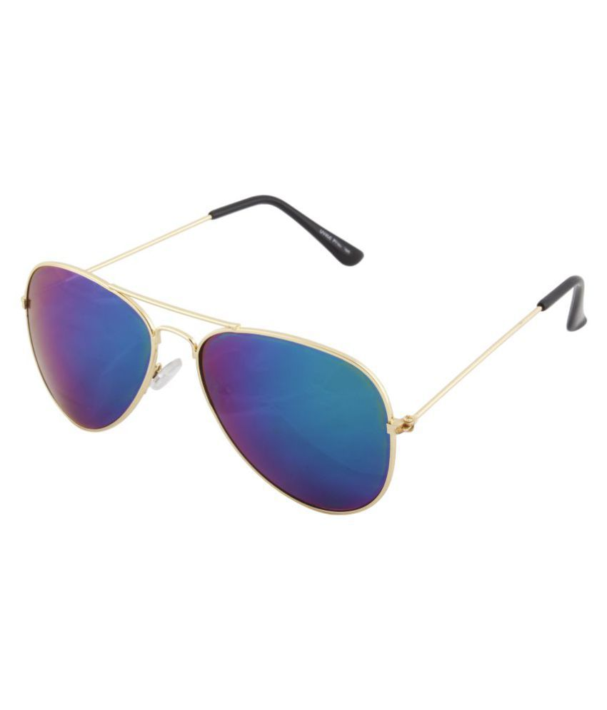 5d4f15d6d6 ANSH BLUE BAY COMPANY Purple Aviator Sunglasses ( ABBS 07 ) - Buy ...