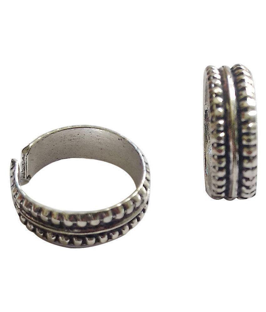 Jyesh Jewel Toe Rings for Women (TR-0001)