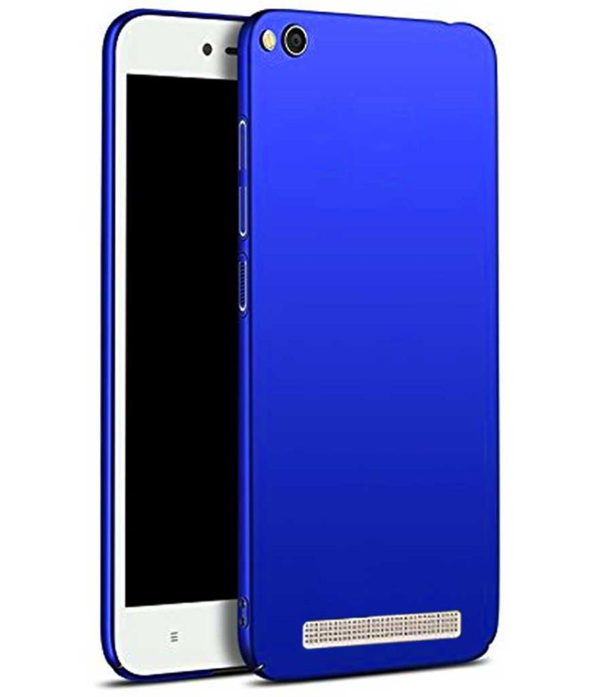 cheap for discount 17a48 63886 Xiaomi Redmi 5A Plain Cases TBZ - Blue