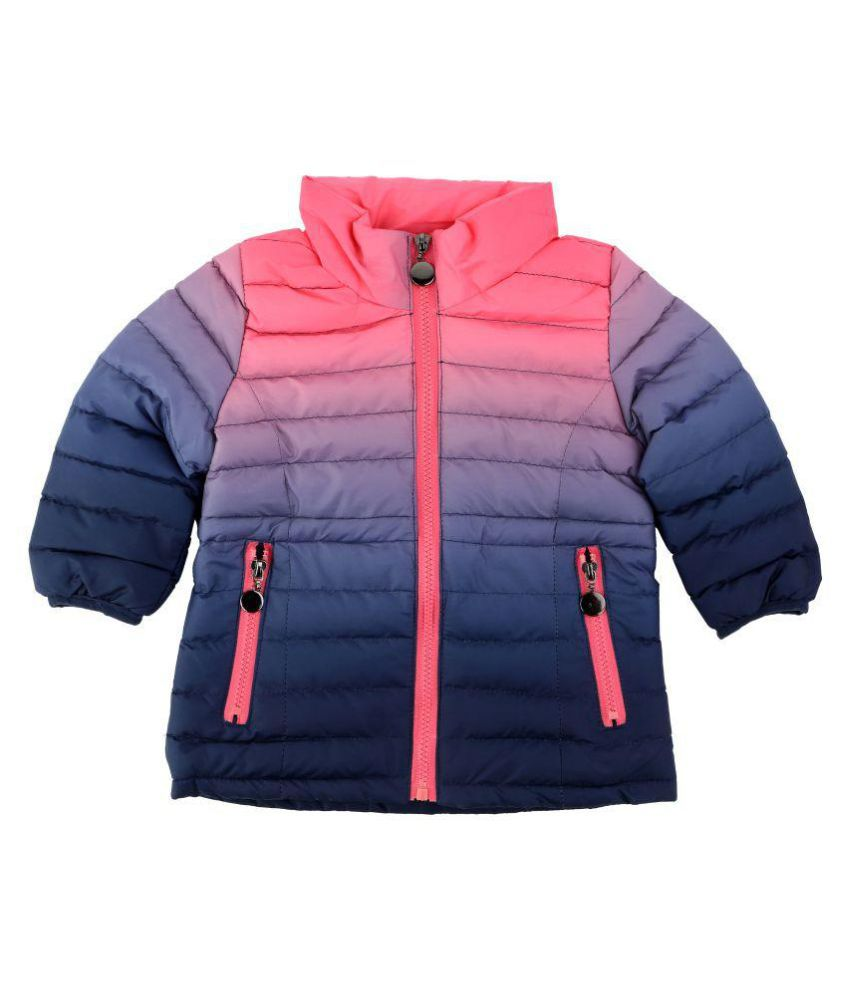 One Friday GIRLS TIE DYE PADDED JACKET