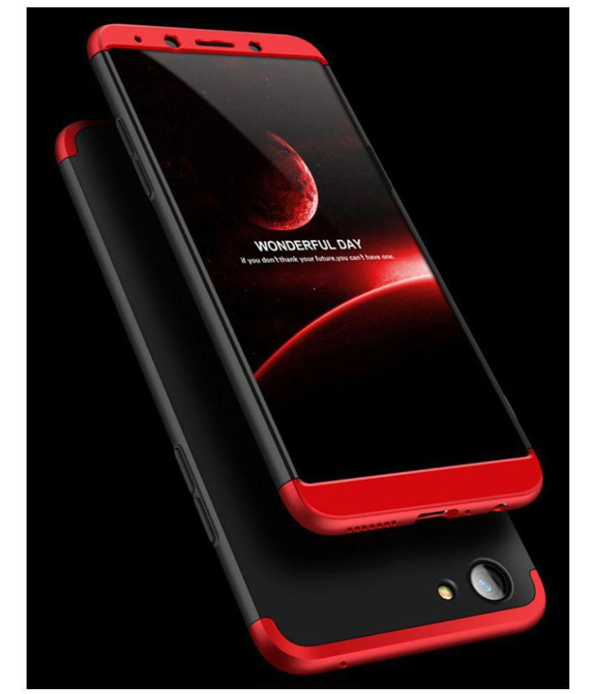 on sale 778a1 7f660 Oppo F5 Shock Proof Case JMA - Red Original Gkk 360° Protection Slim Case