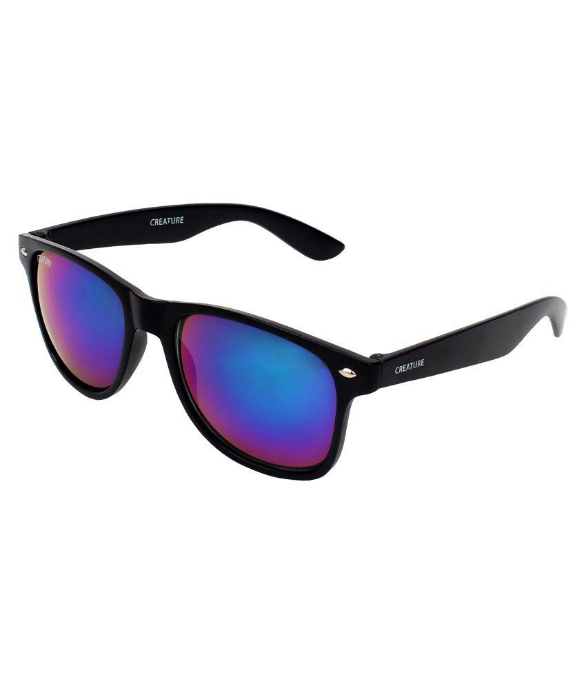 4d85ce334f Creature Multicolor Wayfarer Sunglasses ( SUN-126 ) - Buy Creature  Multicolor Wayfarer Sunglasses ( SUN-126 ) Online at Low Price - Snapdeal