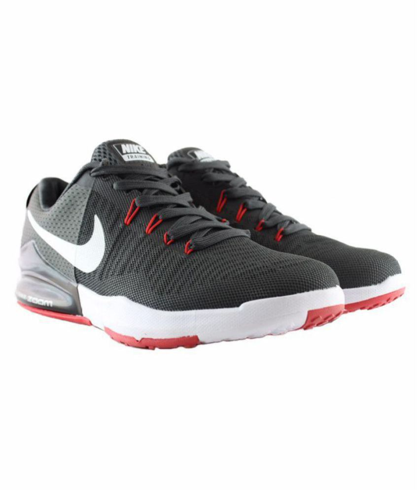 Nike 2018 ZOOM TRAIN ACTION SPORTS SHOES Black Running ...