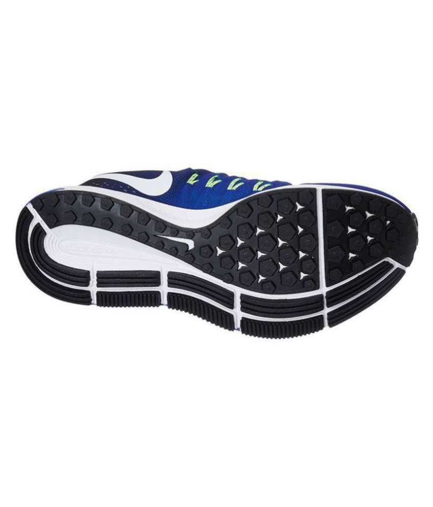 hot sale online 89eb7 7386f ... best price nike zoom pegasus 33 blue running shoes 18384 10999