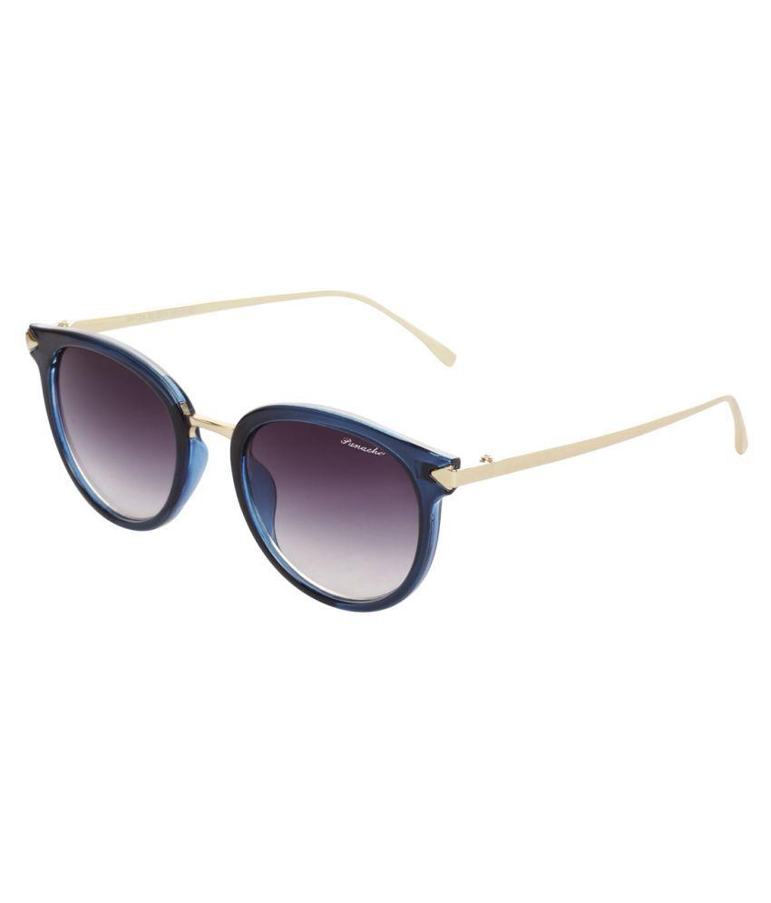 Panache Grey Round Sunglasses ( PD1724_S102 )