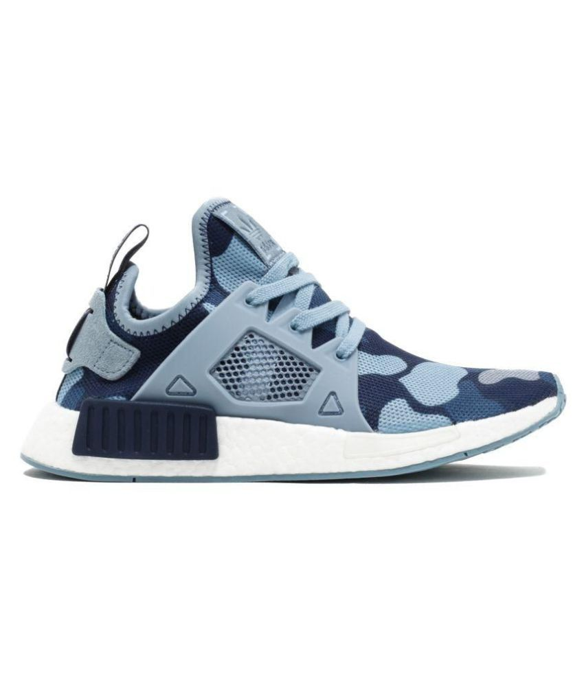 Adidas NMD XR1 CAMO Blue Running Shoes - Buy Adidas NMD XR1 CAMO Blue  Running Shoes Online at Best Prices in India on Snapdeal bd02051cdc