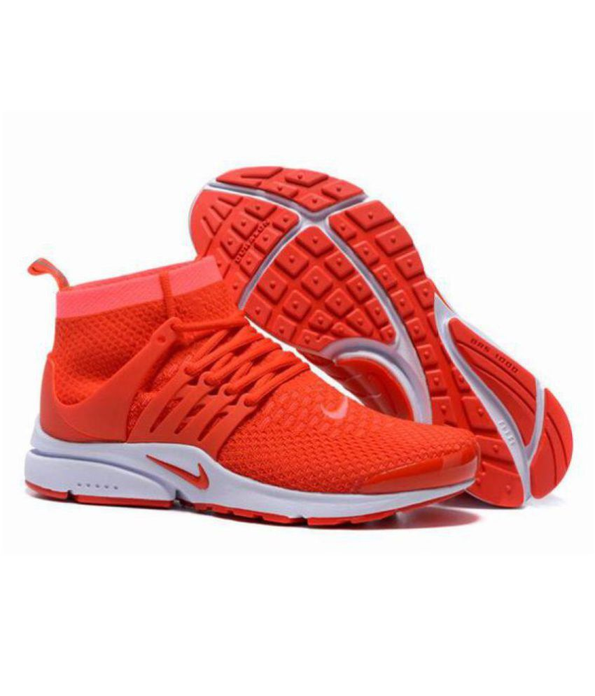 e3b7aa2d1fc7e Nike Air Presto Red Running Shoes - Buy Nike Air Presto Red Running Shoes  Online at Best Prices in India on Snapdeal