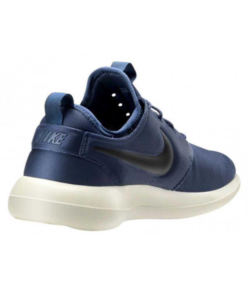 Nike Roshe Two Blue Running Shoes - Buy Nike Roshe Two Blue Running ... a0e024636