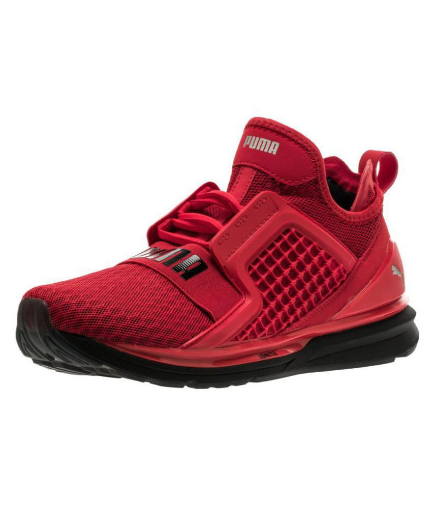 126efe716fb Puma IGNITE LIMITLESS Red Running Shoes - Buy Puma IGNITE LIMITLESS Red  Running Shoes Online at Best Prices in India on Snapdeal