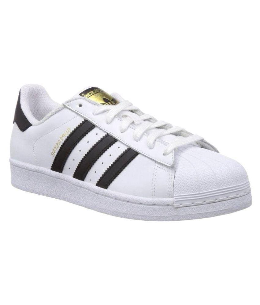 0ed6d5187b55f Adidas Superstar Girls White Running Shoes - Buy Adidas Superstar Girls  White Running Shoes Online at Best Prices in India on Snapdeal