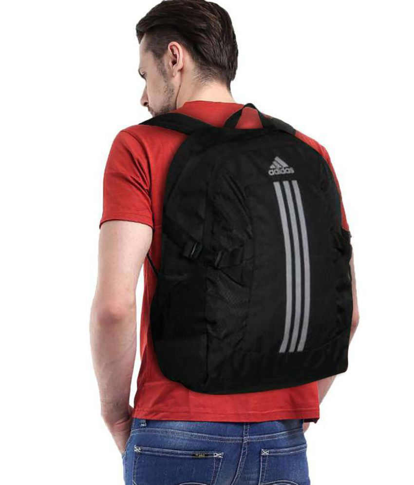 9d18b575f98 Adidas Branded Backpack Laptop bags college bags School bags Black (28  Litres) - Buy Adidas Branded Backpack Laptop bags college bags School bags  Black (28 ...